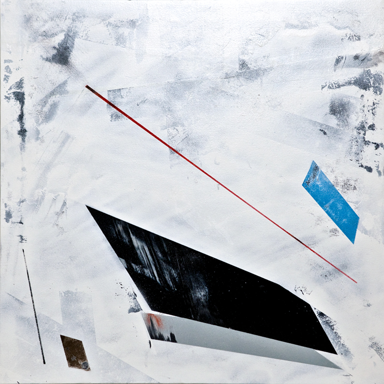 Giant - 2010 Spray paint on canvas 60cm x 60cm