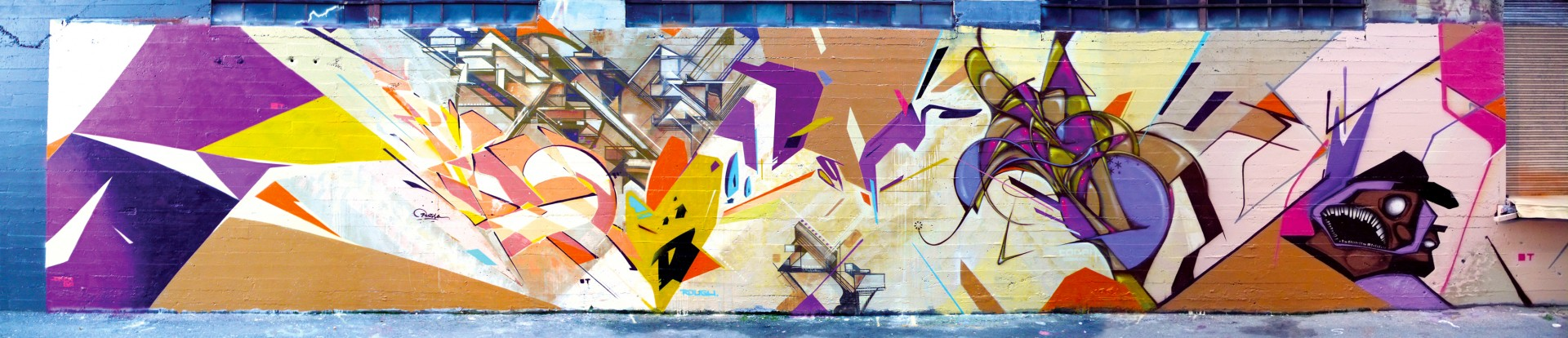 Collaboration with Joker, Augustine Kofie, Poesia, Codak, Kema and Dial - 2010 San Francisco