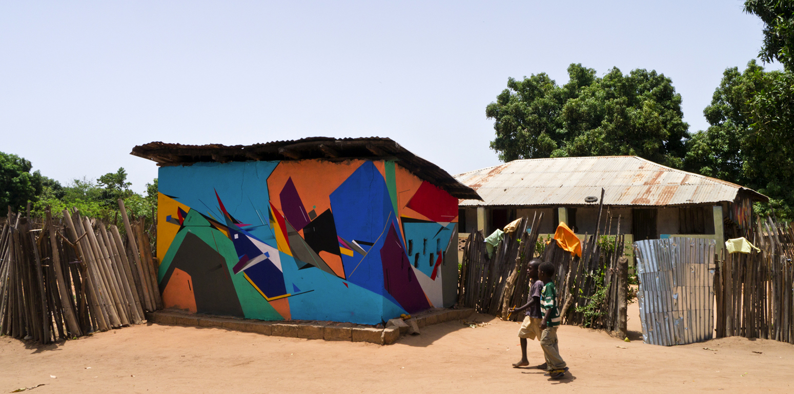 Wide Open Walls - 2014 Gambia